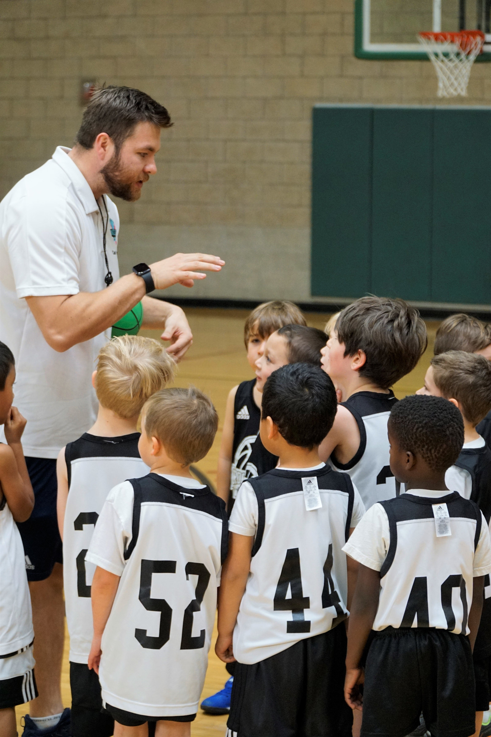 Sean Coaching Youngsters